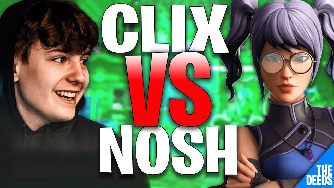 NRG Clix 1 VS 1 C9 Nosh | Fortnite Creative 1v1 *INSANE NA BUILD FIGHTS*