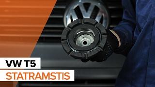 Peržiūrėkite mūsų vaizdo pamokomis vadovą apie VW Amortizatoriaus atrama gedimų šalinimą