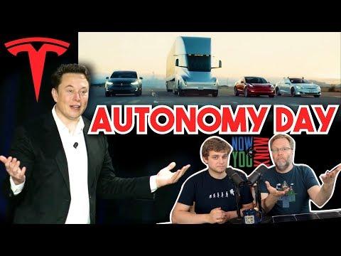Tesla's Autonomy (aka RoboTaxi) Day | In Depth