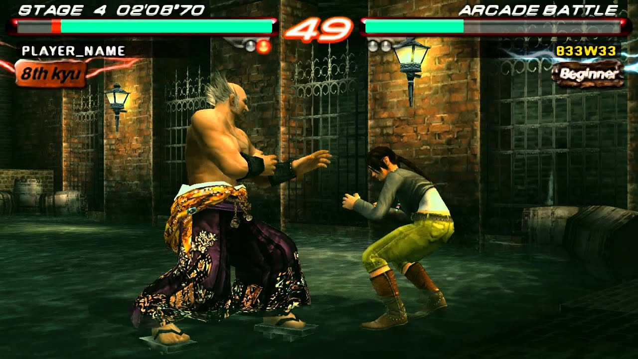 Tekken 6 Psp Emulator Ppsspp V0 9 1 Youtube
