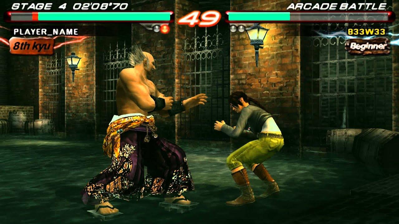 Tekken 6 (PSP Emulator) PPSSPP v0.9.1 - YouTube