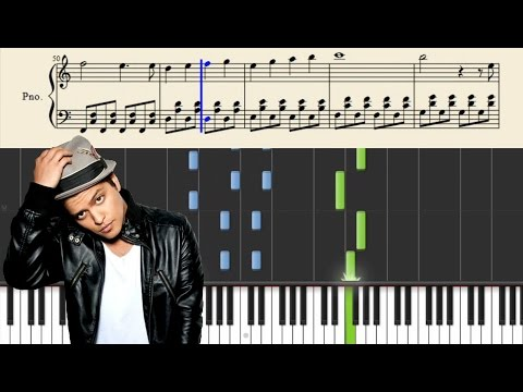 Bruno Mars - Count On Me - Easy Piano Tutorial