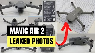 DJI MAVIC AIR 2 PICTURES LEAKED - THIS IS WHAT IT REALLY LOOKS LIKE  :-)