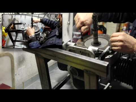 ural dnper m72 k 750 assemblaggio motore engine 2° parte