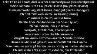 Kollegah & Karate Andi feat. SSIO - Chronik III Lyrics HD