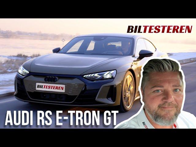 De første indtryk af Audi RS e-tron GT (præsentation)