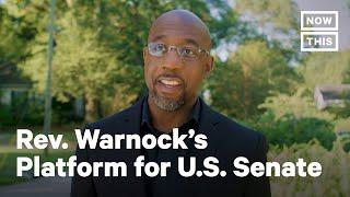 Rev. Warnock Brings Environmental Justice to Georgia | NowThis