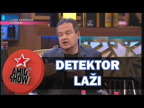 Detektor Laži/Poligraf - Ivica Dačić (Ami G Show S11)