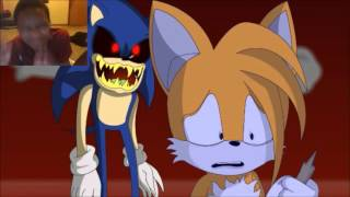 - Sonic.EXE Part 1 Tail s Demise REACTION DEMONIC SONIC