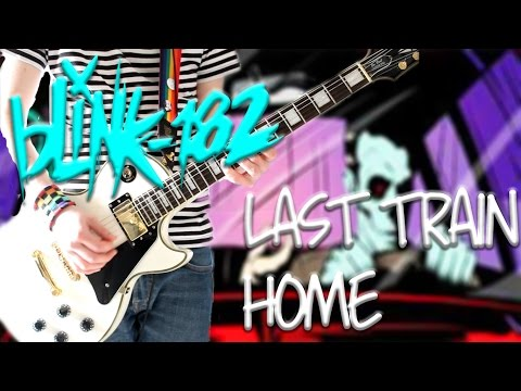 Blink 182 - Last Train Home Guitar Cover CALIFORNIA DELUXE (Guitar Only)