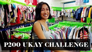 Ukay Ukay Challenge: 200 Pesos For Three Looks | Laureen Uy