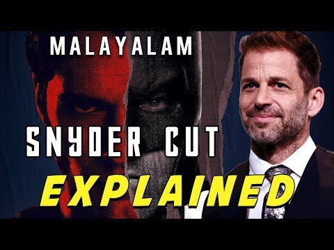 Justice League The Snyder Cut  Real Story Explained In Malayalam | HRK | VEX Entertainment