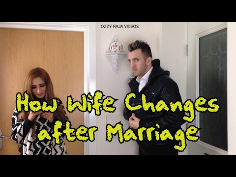 How Wife Changes After Marriage | OZZY RAJA thumbnail