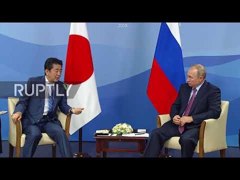 Russia: Putin and Abe meet ahead of Eastern Economic Forum