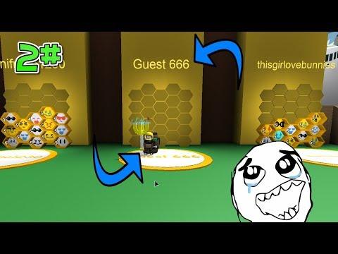 Hraju Bee Swarm Simulator za Guesta 666! / 2# / ROBLOX / jurasek05
