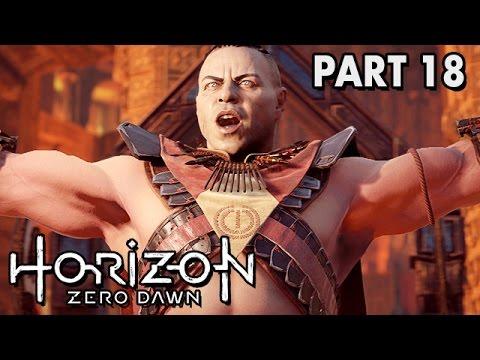 Horizon Zero Dawn German PS4 Pro Gameplay - Licht und Dunkelheit