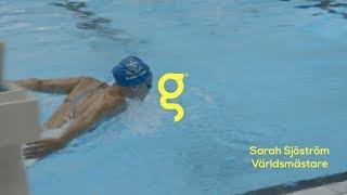 Vi bad Sarah Sjöström flerfaldig världsmästare i simning att göra saker hon inte är världsmästare i