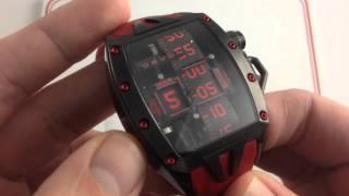 Devon Tread 2 RedRuM MurDeR Luxury Watch Review