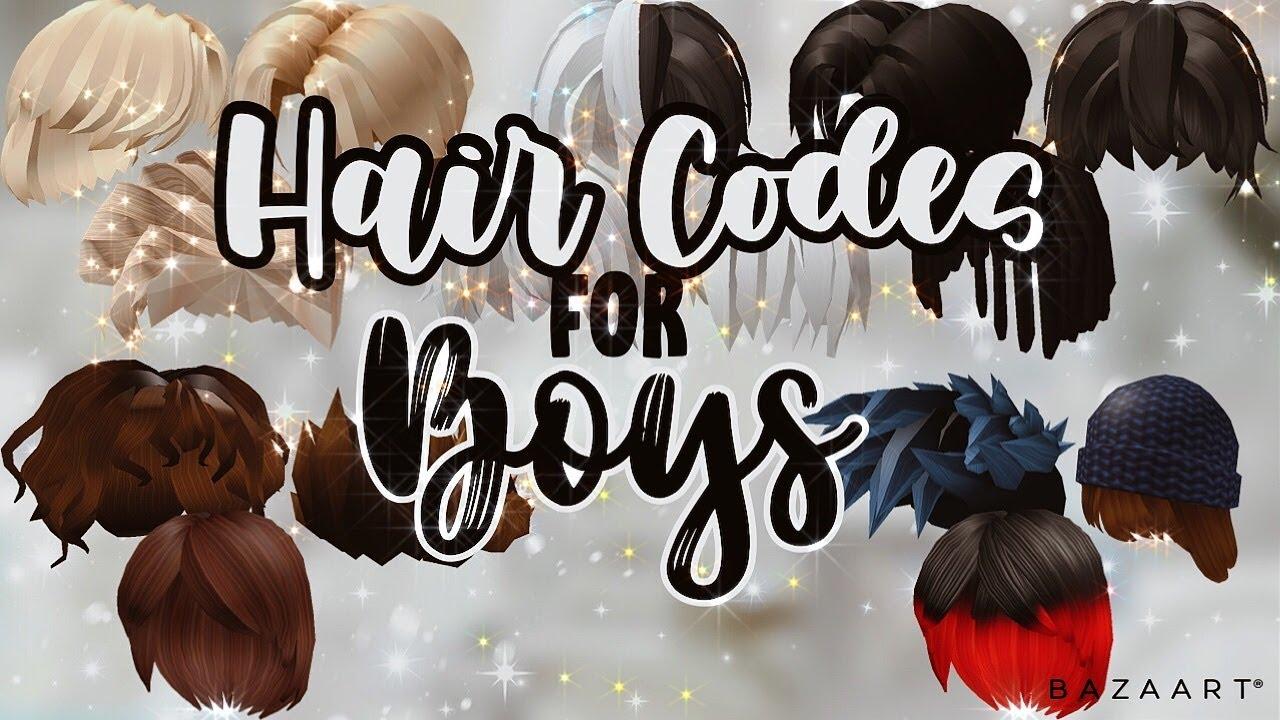 Hair Codes For Boys Short Hair Roblox Bloxburg Youtube