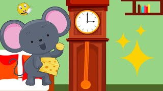 Hickory Dickory Dock Nursery Rhyme, classic nursery rhymes for kids