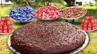 Oreo & Kitkat Mixed Chocolate Cake | Oreo Biscutes Cake | Grandpa Kitchen