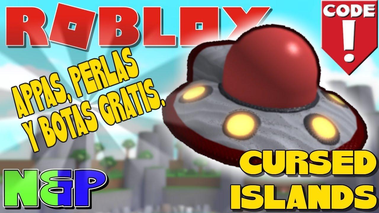 Roblox Cursed Island Codes 14 Tane Ufo - Gratis 300 Appas 30 Perlas 3 Botas Gravity Para Cursed