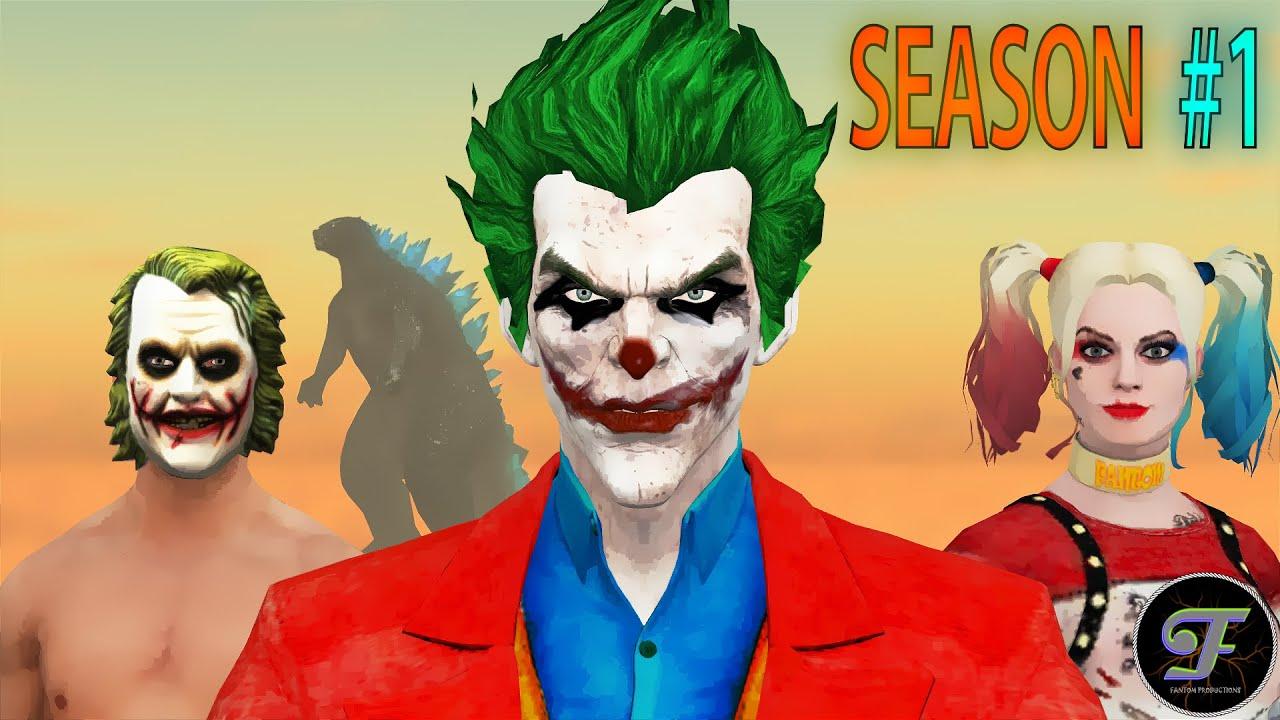 JOKER SQUAD | Season 1 All Episodes | Pubg Animation