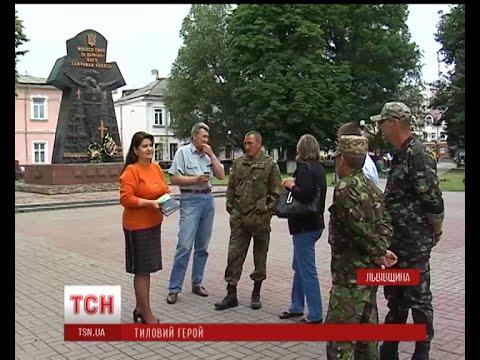 На Львівщині воєнком отримав статус учасника бойових дій за кілька днів у зоні АТО