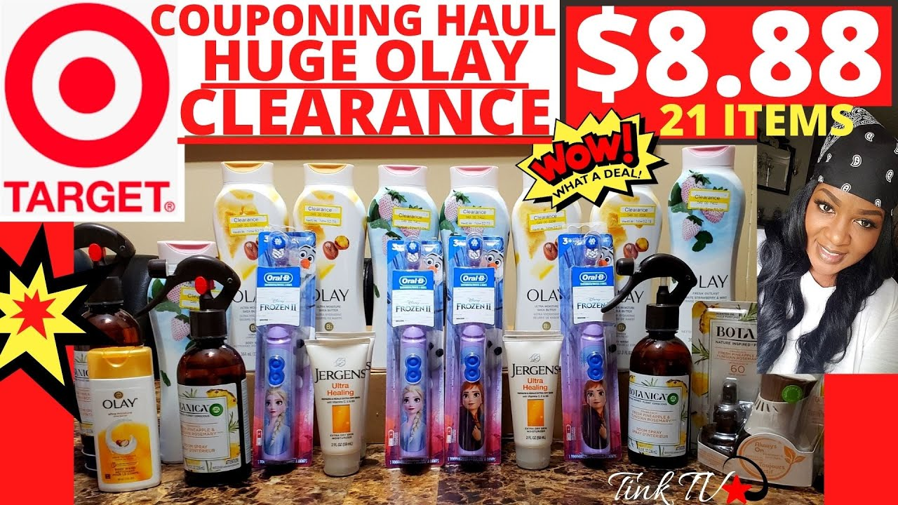🔴💥TARGET COUPONING HAUL💥HUGE OLAY CLEARANCE🏃CHEAP & NO OUT OF POCKET DEALS🔴PAPER Qs USED💥✂MOM