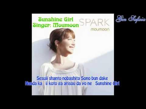 Sunshine Girl [J-pop - Off Vocal - Beat & Karaoke - Instrumental - Lyrics] - Moumoon