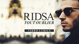 Ridsa - Tout oublier (Acoustique) [Vidéo Lyrics]