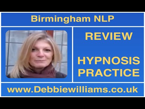 Birmingham NLP and Hypnosis Testimonial - YouTube