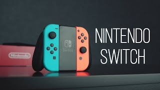 Внезапная распаковка Nintendo Switch, первое впечатление, первые выводы.