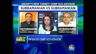 CNBC-TV18 Excl: Subramanian Guns For Subramanian