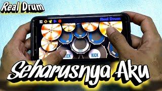Download Lagu HARUSNYA AKU - ARMADA | REAL DRUM COVER mp3