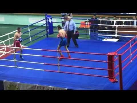 бой   кинг  бокс   54кг  VS  54кг    (армения) 10.11.2018