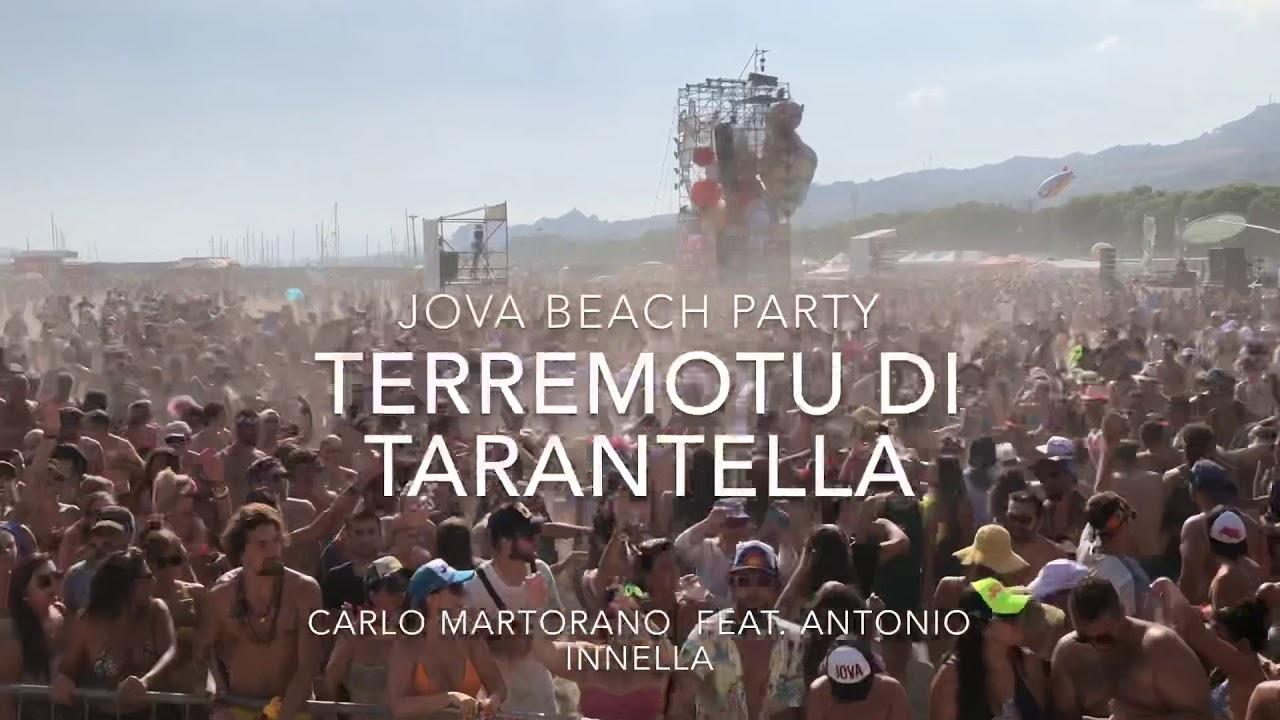 Sangennarobar al Jova Beach Party - Terremotu di Tarantella