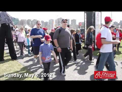 Join us for the annual CN Cycle for CHEO: May 6th, 2012