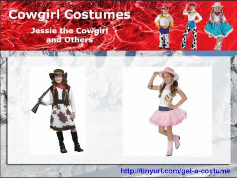 Cowgirl Costumes -- toddler cowgirl costumes, cowgirl costumes for girls, cowgirl Halloween costume