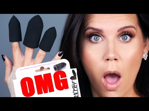 FINGER MAKEUP SPONGES ... OMG!!!