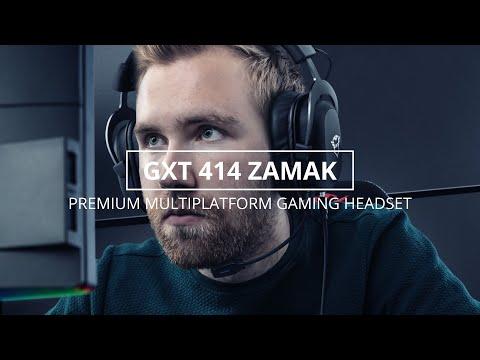 GXT 414 Zamak Multiplatform Gaming Headphones
