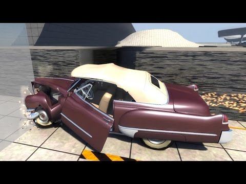BeamNG.drive - Small Overlap Crash Test for Cars