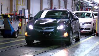 2014 Chevrolet Volt Assembly Line