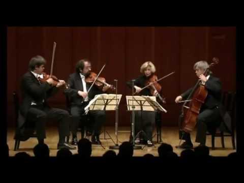 THE HAGEN QUARTET ~ Mozart String Quartet in D major , K.499