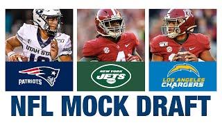 FULL 1st Round NFL Mock Draft!