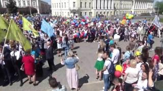Последний звонок 24 мая 2017г город Владимир
