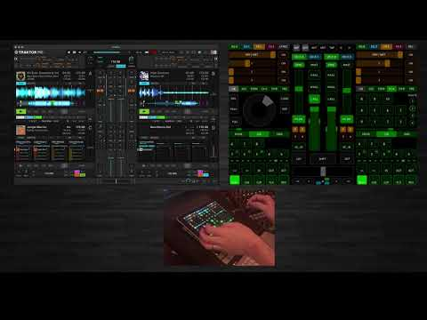 Jungle / Jump-Up Mini Mix - TouchOSC & Traktor