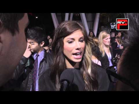 AJ Rafael & Chris Trondsen interviews Christina Perri at Twilight Breaking Dawn 1 Premiere