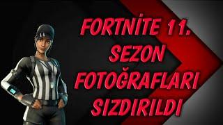 FORTNİTE 11.SEZON SIZDIRILAN MAP FOTOĞRAFLARI !!