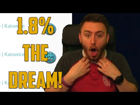1.8% THE DREAM! (CSGO Jackpot - Skin Gambling)